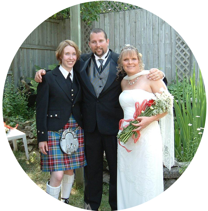 """Thanks for everything Chris. You can be sure that you get referrals from my family.""""Thanks for the beautiful ceremony Chris.We just got the wedding DVD back and it's fabulous!"""